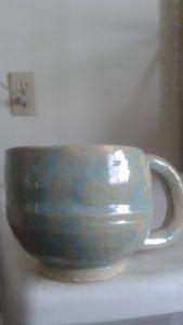 Round handled mug