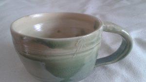 Edge trim mug