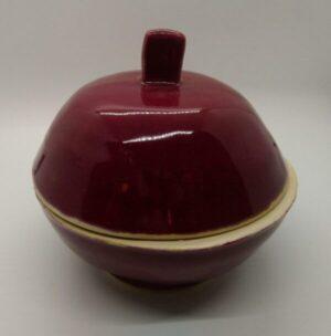 Burgundy Covered dish