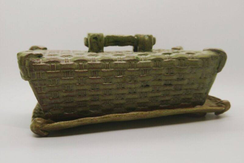 Oversized Two Tone Butter dish