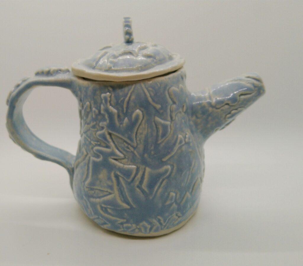 Wedgewood Blue teapot
