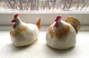 Brown Collar Chickens