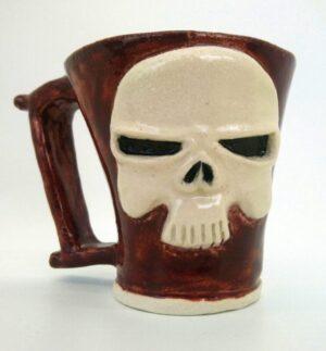 Skull Vegan AF Mug