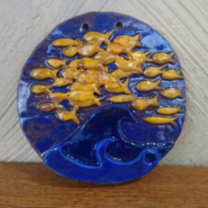 Goldfish Cracker wall hanging