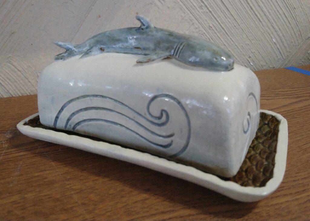 Shark Butter Dish